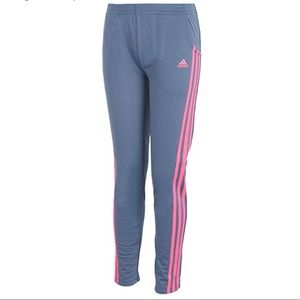 adidas Girls' Big Warm Up Pant Bottom